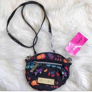 NWT Betsey Johnson crossbody Fruits Print Bag